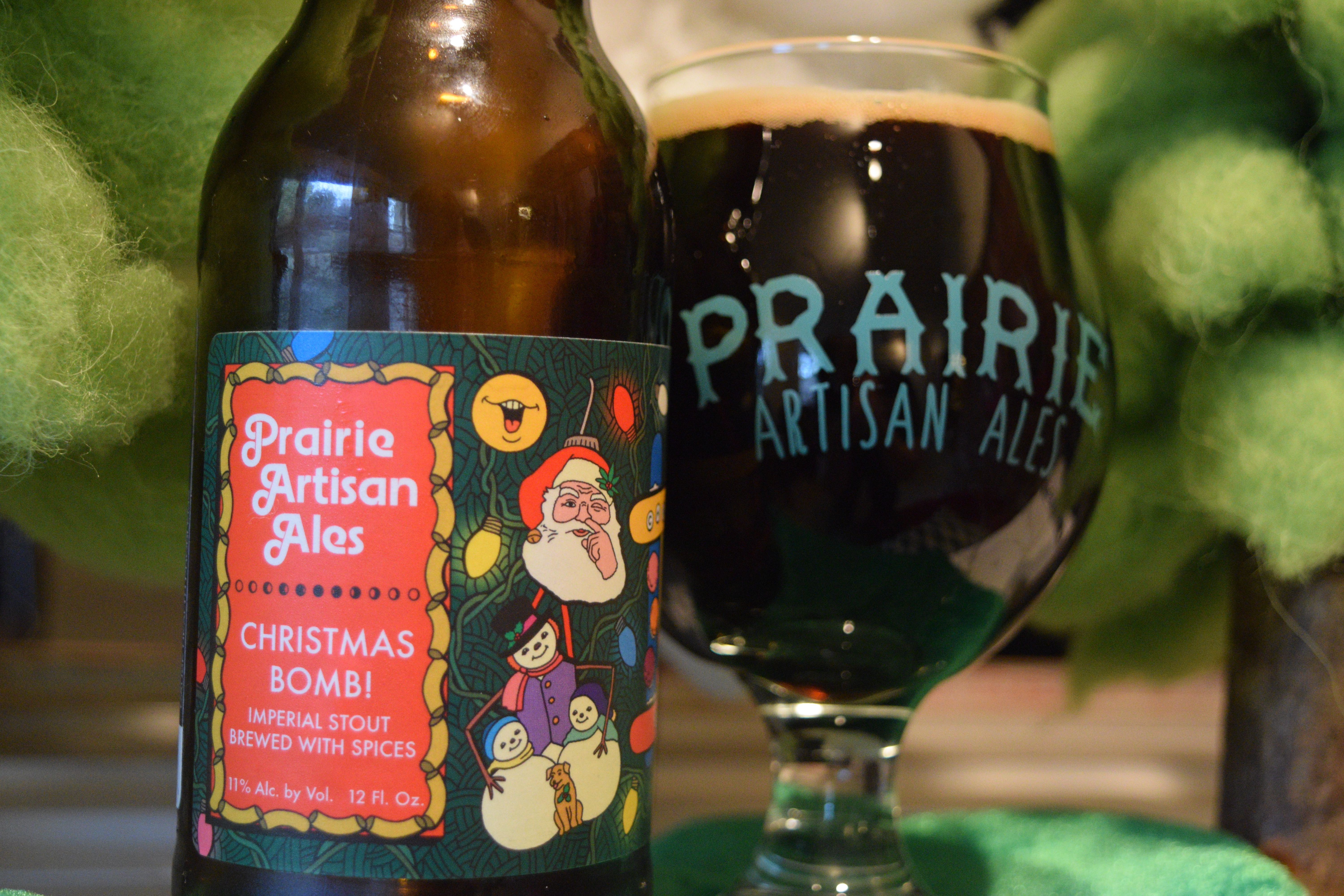 Christmas Bomb Beer.Review Prairie Artisan Ales Christmas Bomb 2015