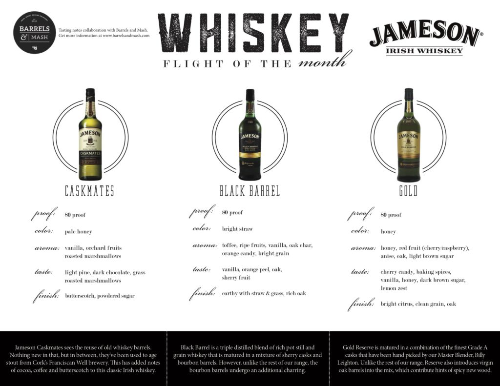 whiskeyflight_oct2016jameson_placemat